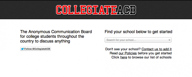 CollegiateACB creator reveals site's popularity with the College