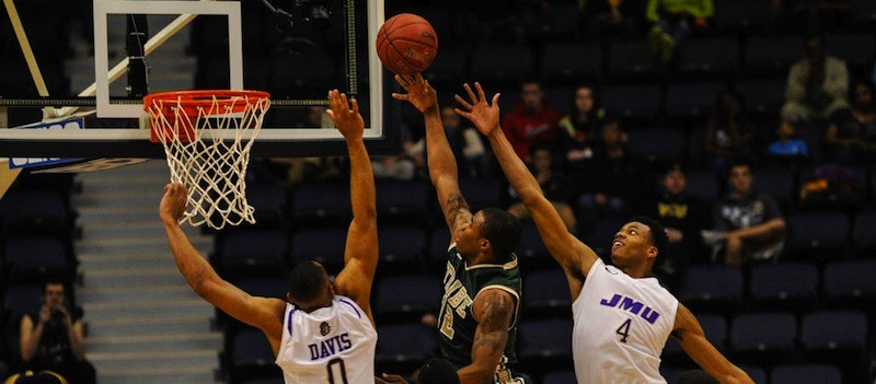 Men's basketball: Season comes to an end in 72-67 loss to James Madison