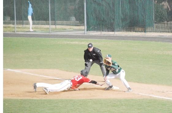 Baseball: Keydets slide past College