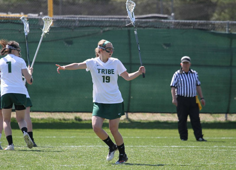 Lacrosse: Tribe loses early lead in loss to Longwood