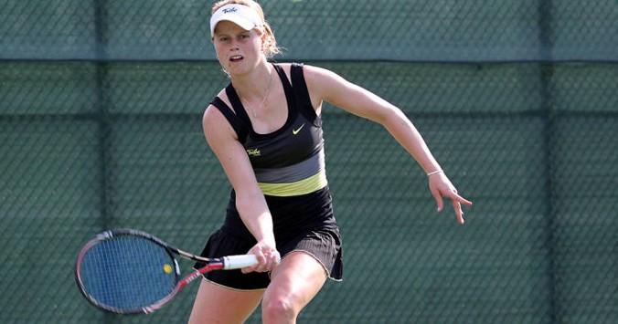 Women's Tennis: No. 46 College serves up comeback win