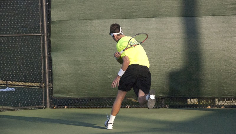 Men's tennis: Tribe falls to Seahawks