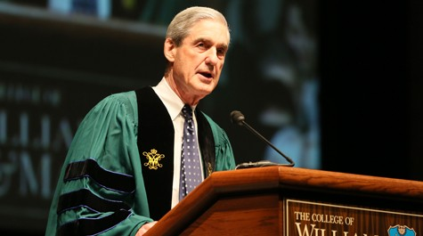 Mueller stresses integrity, service, patience in commencement address