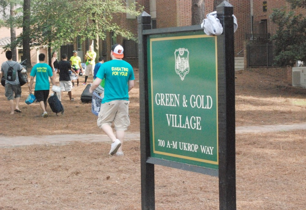 Adapting to life in the Green and Gold Village
