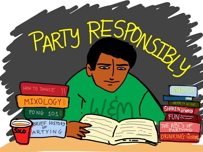 A quick crash course on party etiquette for the beginning of the fall semester