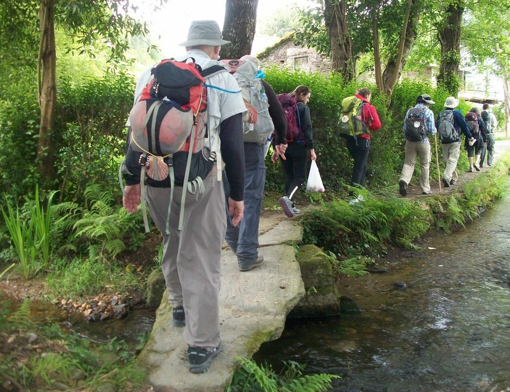 The road to Santiago: Students, faculty travel the Camino