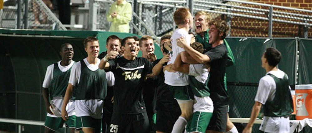 Men's Soccer: No. 1 goes down again