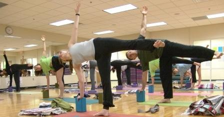 Turn up the Enya: Students relieve stress with yoga