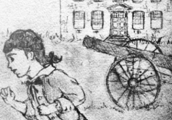 Brafferton's running boy