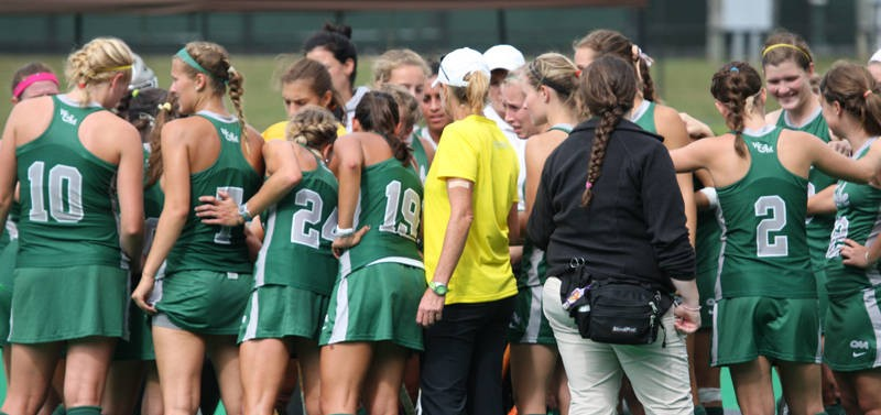 Field Hockey: Tribe splits weekend series