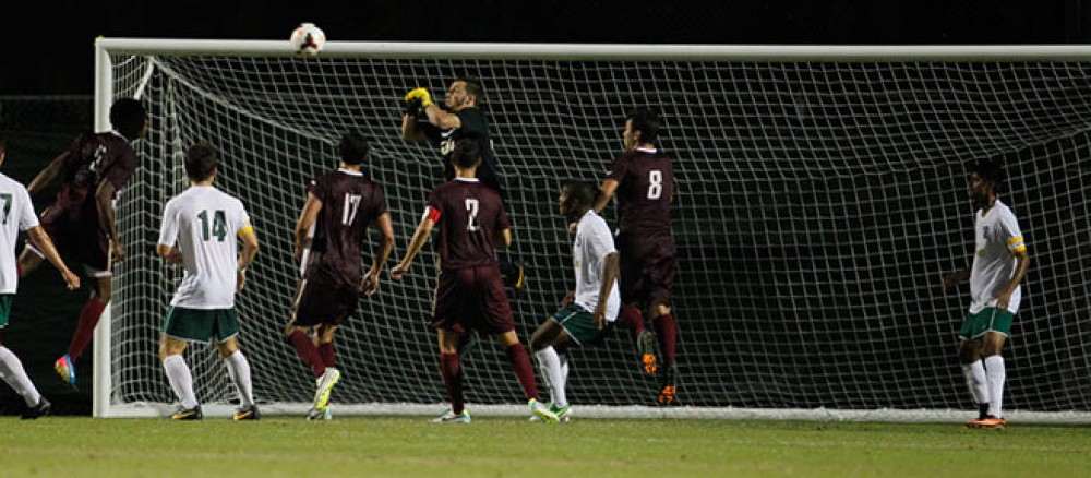Men's Soccer: Perez lifts Tribe in CAA home opener