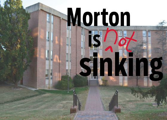 Morton is not sinking