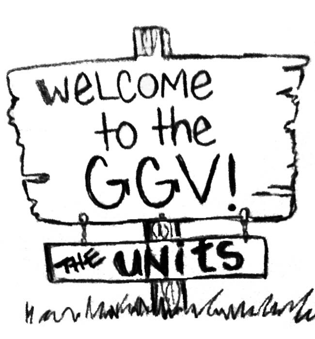 Green and Gold Village recalls the horror of the Units, and that's why it's loved