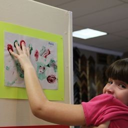 Buddy up: Reaching out through artwork