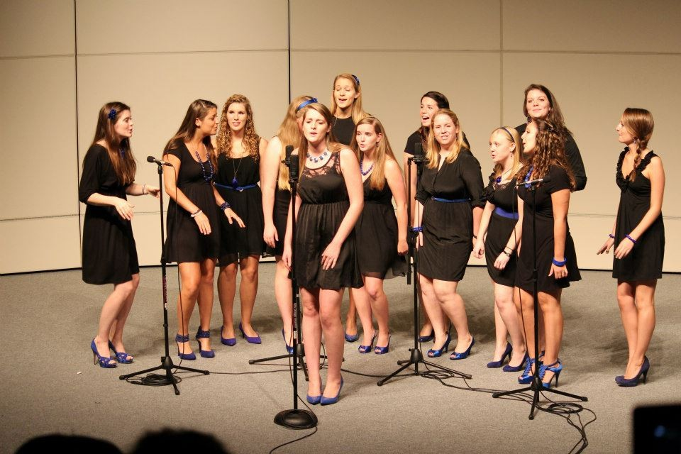 Blue-shoed a capella group shines at the Wren