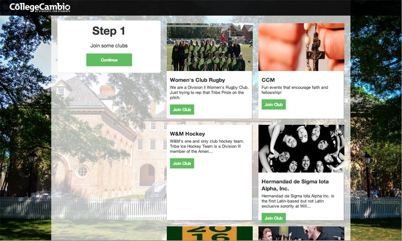 CollegeCambio relaunches site