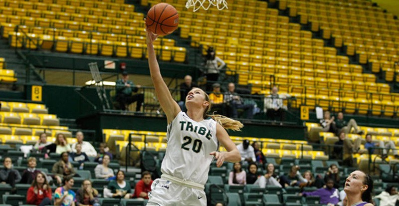 Women's basketball: Tribe loses, wins in tournament