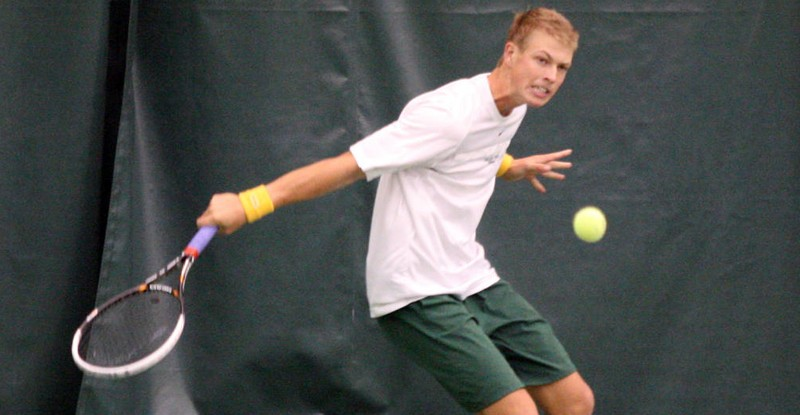 Men's Tennis: Tribe falls to ND and NU