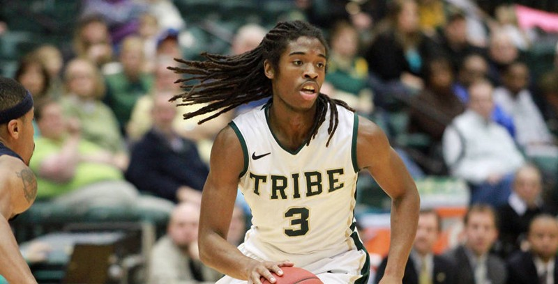 Men's basketball: Strong second half sends Tribe past Cougars, 74-63