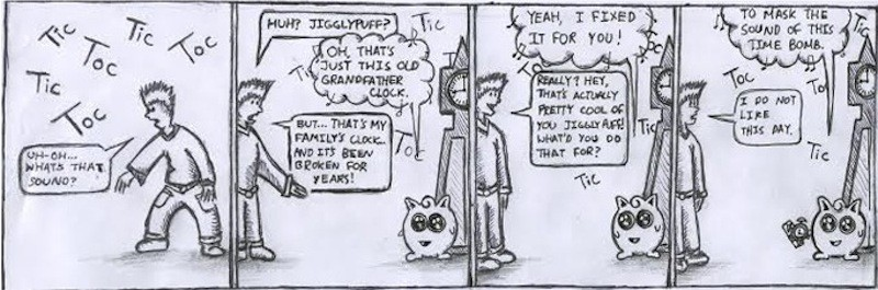 Jigglypuff cartoon: Time to kill
