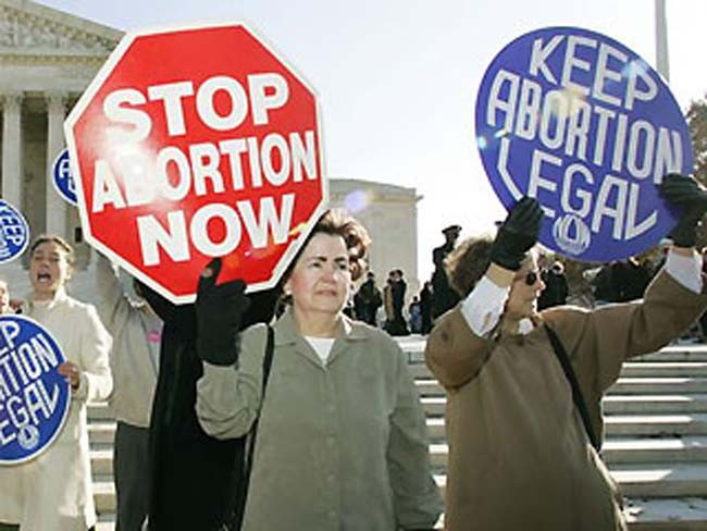 On abortion: Both sides value life