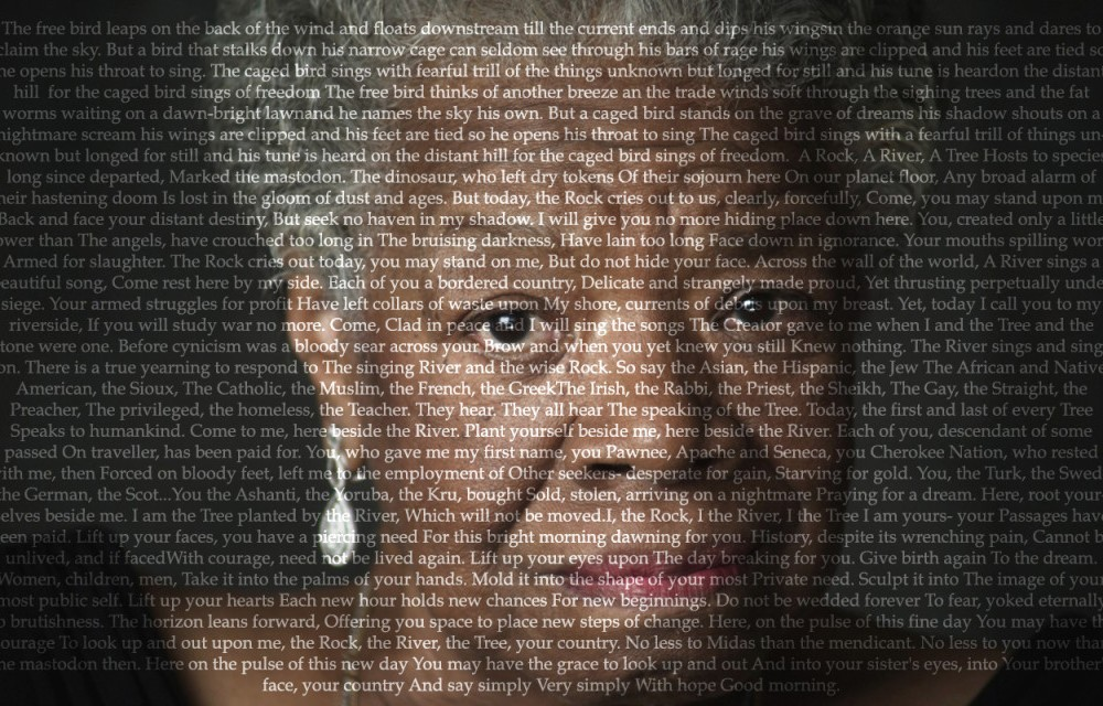Maya Angelou to speak at the College