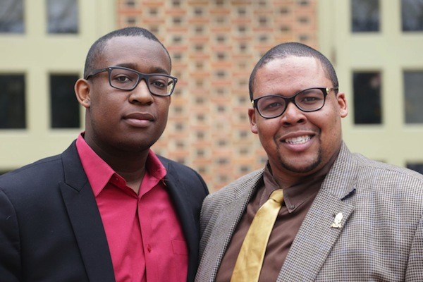 SA candidates: Carlton Smith and  Christopher Johnson