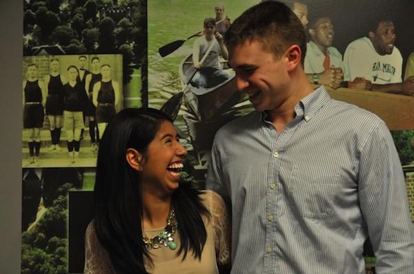 SA candidates: Trevor Parkes and Liz Hernandez