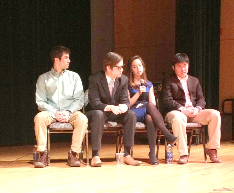 Student Assembly commission reorganizes presidential debate