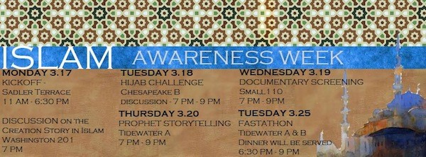 Muslim Students Association host Islamic Awareness Week