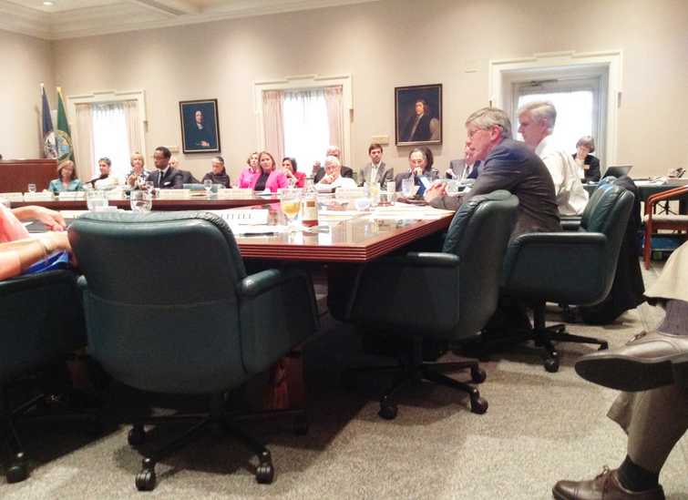 Board of Visitors convenes for April meetings