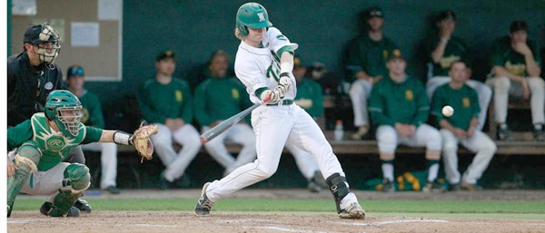 Baseball: College offense stalls in fourth straight mid-week losses