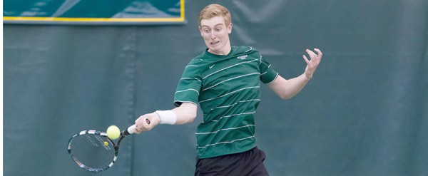 Men's Tennis: Juggins caps road victory