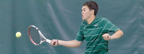Men's Tennis: Freshmen lead Tribe to Sunday sweep