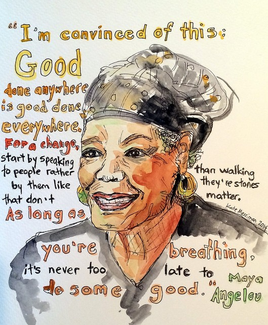 College celebrates the life of Maya Angelou, Renaissance woman