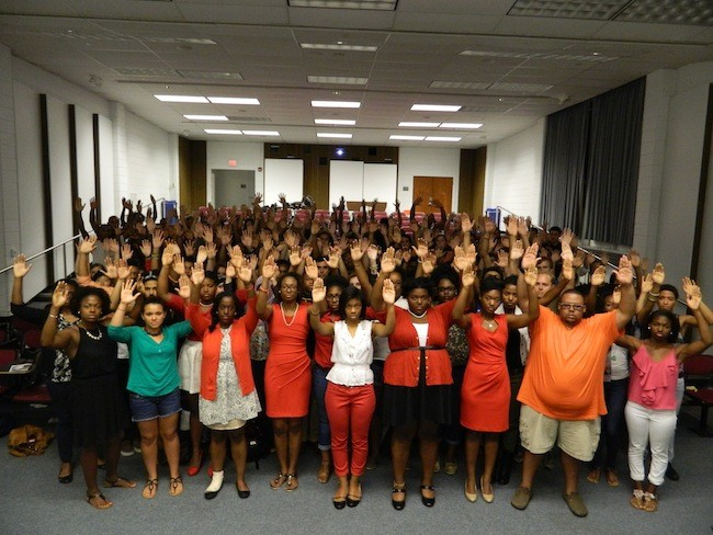 #HandsUp Event Raises Questions About Police Brutality