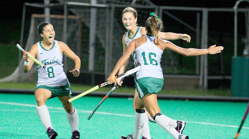 Field Hockey: Tribe drops two games over weekend