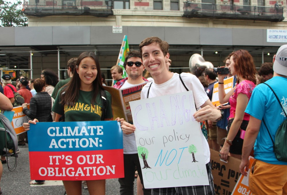 William and Mary students take over New York City for People's Climate March