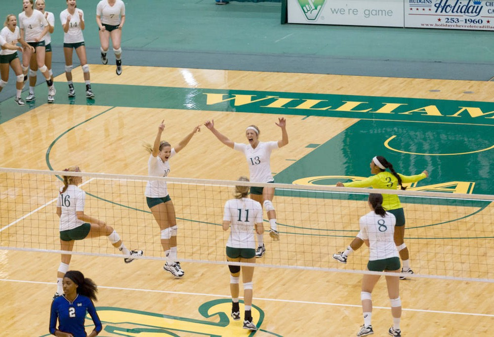 Volleyball: College swept at Wolfpack Invitational