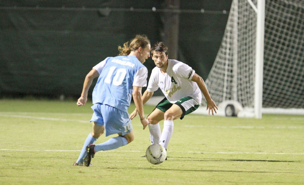 Men's Soccer: Tribe shut out at home by No. 1 UNC