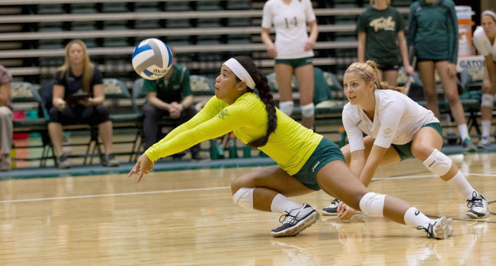 Volleyball: Tribe prevails over Hampton in straight sets
