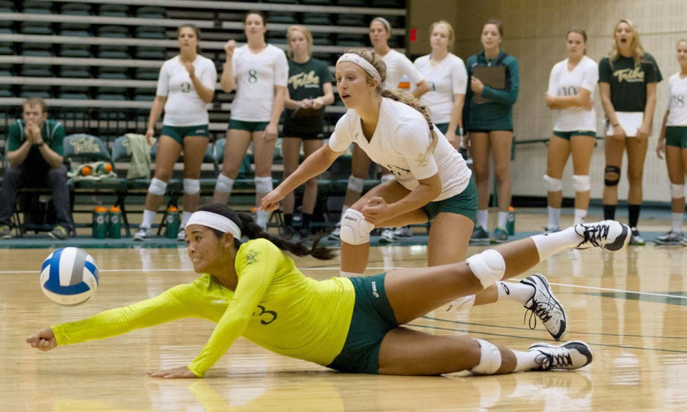 Volleyball: Tribe currently off to a 4-6 start this season