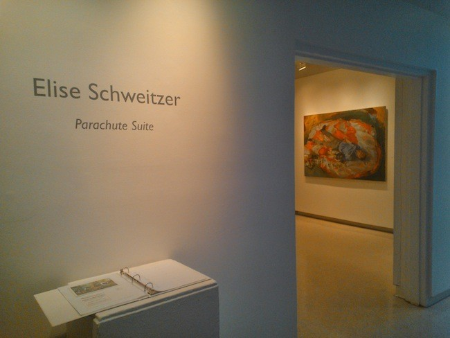 Tragedy among the mundane: Parachute Suite at Andrews Gallery