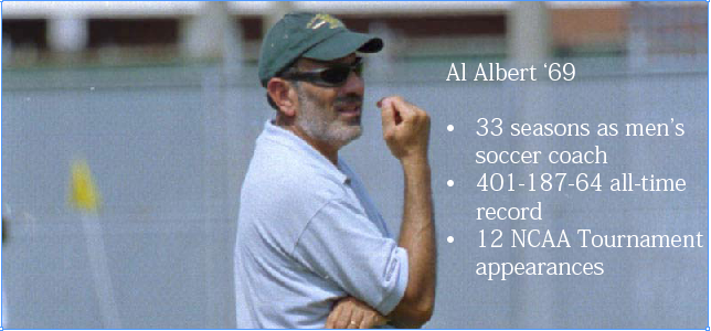Alumni: Al Albert '69 inducted into Hampton Roads Sports Hall of Fame