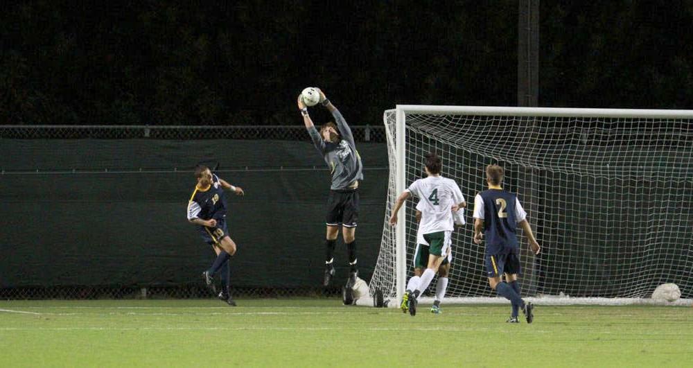 Men's Soccer: Tribe burns Dragons for 3-1 win