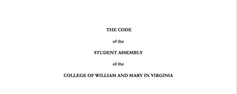 Code Revision Committee discusses Undergraduate Council inefficiencies