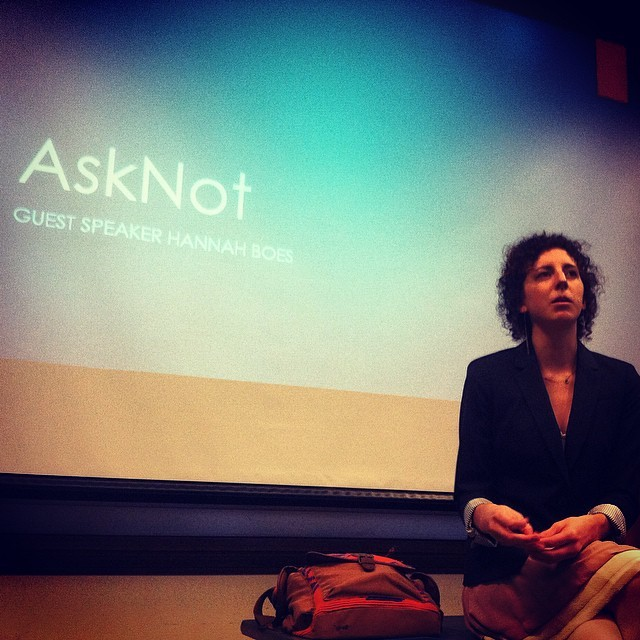 AskNot provides service alternatives for students