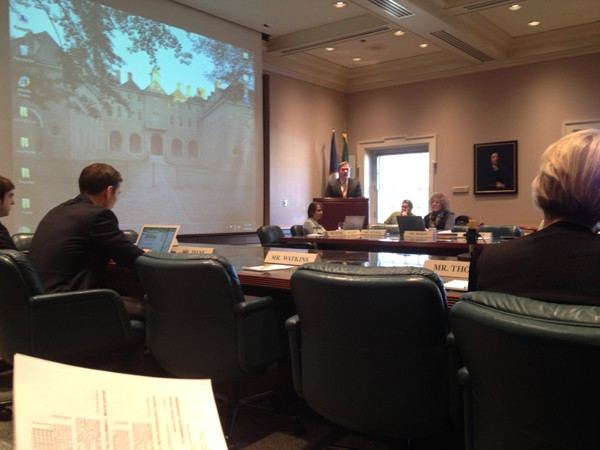 Committee on Student Affairs discusses updates on Task Force on Preventing Sexual Assault and Harassment