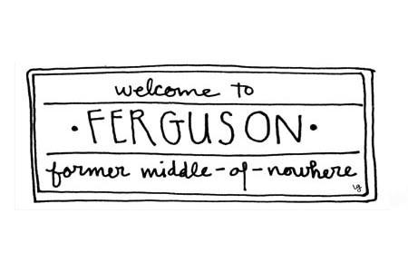 Spending Thanksgiving at the heart of Ferguson's conflict