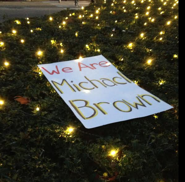 Students, members of Williamsburg community conduct protest following Darren Wilson decision